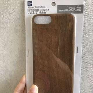 iPhone 7Plus/ 6s Plus/ 6 Plus 木 Phone Case 電話殼