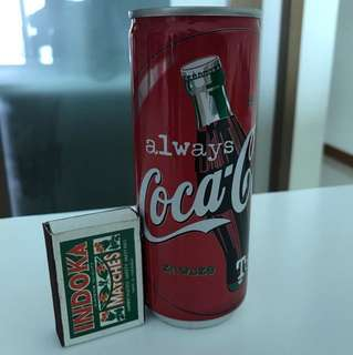 Coca-Cola Always 250ml Japan Collectibles