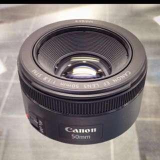 canon 原廠50mm1.8 極新