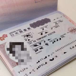 JAPAN TOURIST VISA (NON-APPEARANCE)