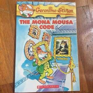 Geronimo Stilton- The Mona Mousa Code