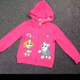 Instock 4T paw Patrol Skye jackets authentic gd quality brand new