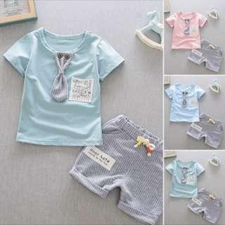 Baby Clothes Set top pants set kids baby toddler