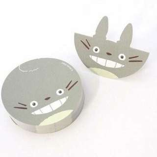 日本龍貓立體便條紙