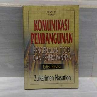 Buku Kuliah Komunikasi Pembangunan