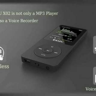 Hifi DAP MP3 Player 8 GB Black