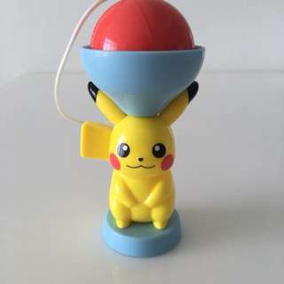 Pikachu Kendama from McDonalds Japan Pokemon Happy Meal Figurine Toy
