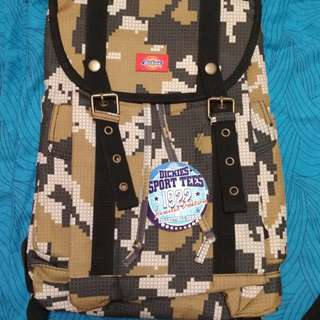 Brand New Dickies Backpack Camouflage