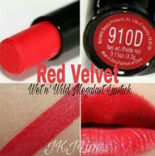 Wet n' Wild megalast lipstick - Red Velvet