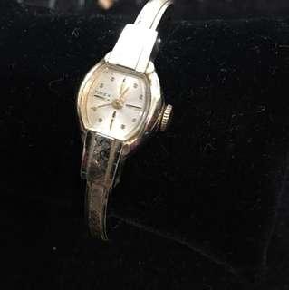 🚚 早期天美時TIMEX機械錶女錶