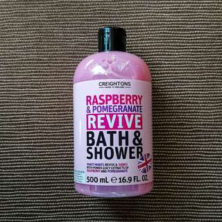 CREIGHTONS Raspberry & Pomegrenate Revive Bath & Shower Gel