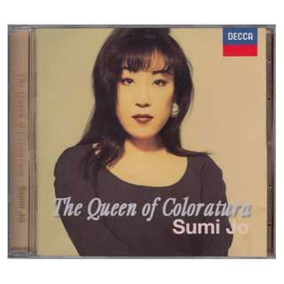 Sumi Jo: <The Queen of Color Atura> (1998 CD)