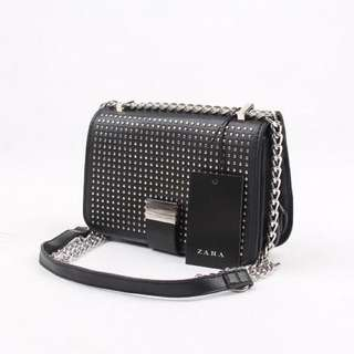 Zara studded crossbody bag