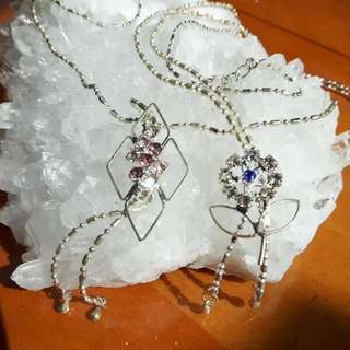 Gemstone necklace 项链  Li Xin jewellery
