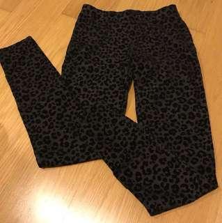 H&M velvet legging pants age 13-14