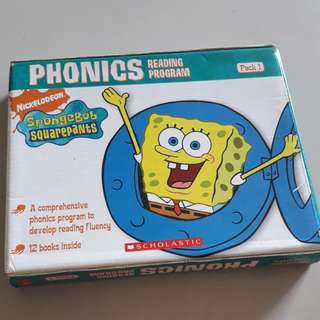 SpongeBob phonics box set