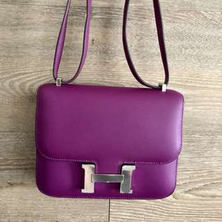 🔥Deal! Hermes Constance 18 Anemone R Stamp