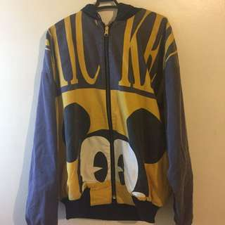 REVERSIBLE MICKEY MOUSE JACKET FROM HK