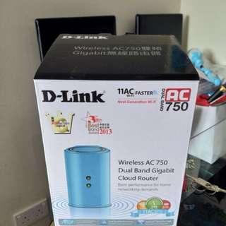 D-Link AC750 dir 818LW Dlink 有保用