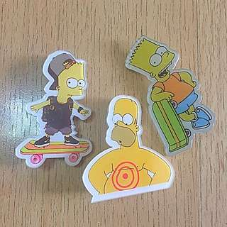 The Simpsons pins