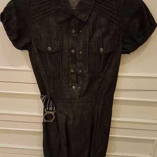 REPRICED Solemio jeans dress