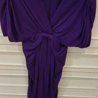 Zara purple dresss