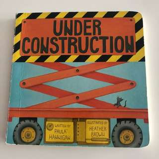 Under Construction Board Book
