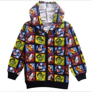 PO kids avenger Jackets Brand New Size 110-140cm