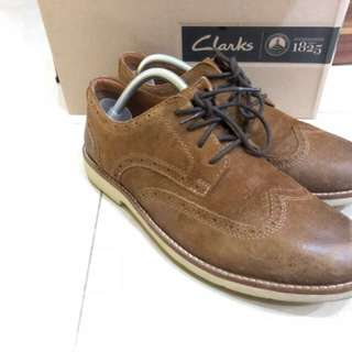 Clarks brown oxford casual forma