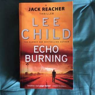 Lee Child- Echo Burning