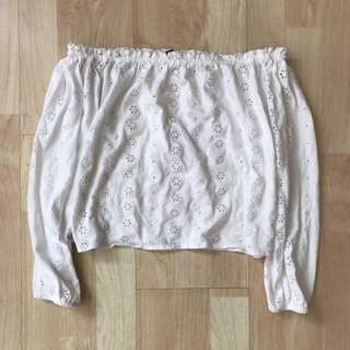 QYOP nwt brandy melville theia eyelet