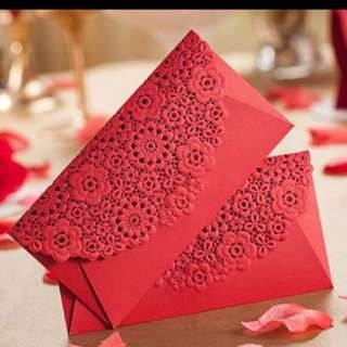 Wedding angpow