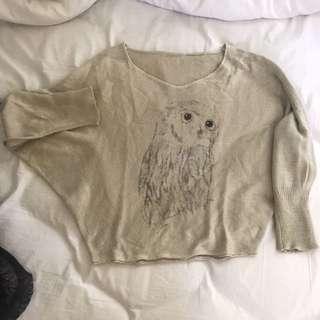 Owl Printed Jumper