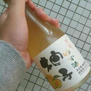 柚子酒和黑加倫子酒