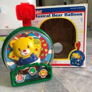 Musical Bear Balloon