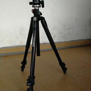 Tripod manfrotto 190xprob with 496rc2 head