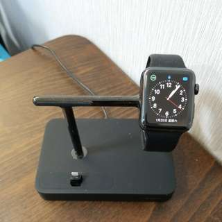 Apple iwatch series 2 連belkin 差電座
