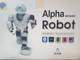 Alpha 1s programmable robot