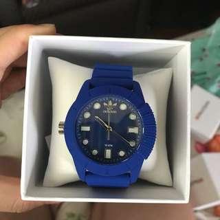 Blue Adidas Silicone Watch