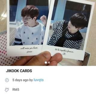 jikook cards