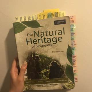 GES 1021 Textbook - Natural Heritage of SG