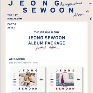 JEONG SEWOON PART 2 AFTER