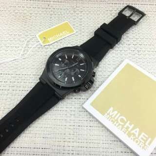 MK Watch with Rubber Strap