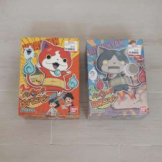 Yokai Watch Cat Figurines