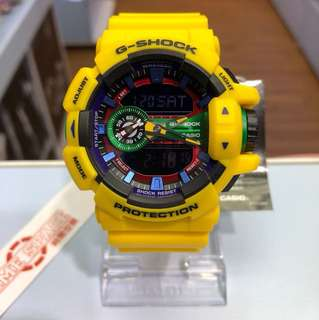 CASIO G-SHOCK GA-400-9A
