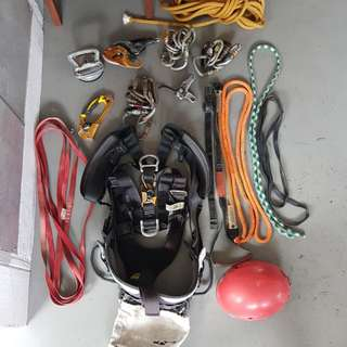 Rope Access Harnest and Accessories