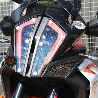 KTM 1290 Super Duke R (2017+) Pyramid Plastics Headlight Protector