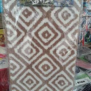 Floor mat/絨毛圖案防滑地毡(40×60cm)