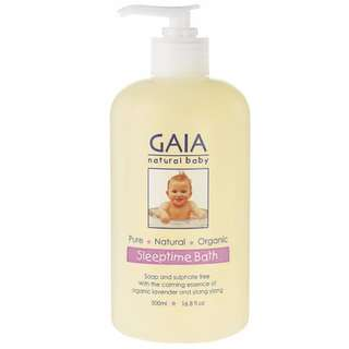 (In Stock) GAIA Sleep Time Bath + Pump 500ml