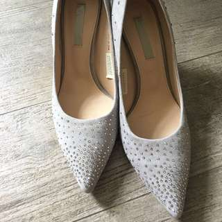 Staccato Swarovski Shoes Size 23.5
